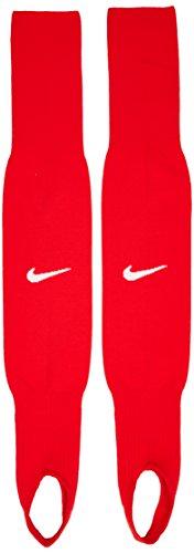 Nike Fußballstutzen Ts Stirrup III, university rot/weiß