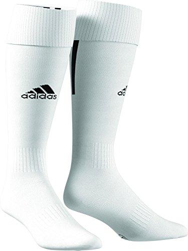 adidas Santos 18 Fussballsocken, White/Black